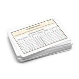Large Bead Frame Multiplication Task Cards.  Level 3-6
