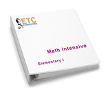 Math Intensive - Elementary I