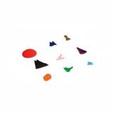 Montessori Plastic Grammar Symbols Set