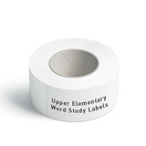 Upper Elementary Word Study Labels