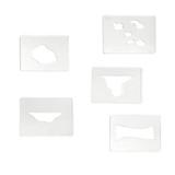 Land Forms Stencils - Complete Set
