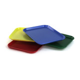 Plastic shallow Trays Set of 4 (10 x 14 x 1 in)