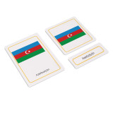Flags of Asia 3 Part Cards (EC-0504)