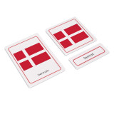Flags of Europe 3 Part Cards (EC-0503)