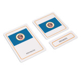 Flags of North America 3 Part Cards (EC-0501)