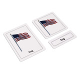 Product - Parts of a Flag 3 Part Cards (EC-0510)