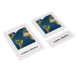 World Oceans 3 Part Cards (EC-0576)