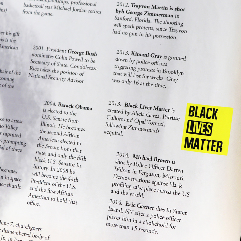 Timeline of African American History and civil rights