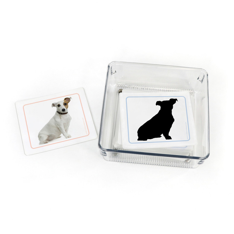 Dogs Silhouettes - Matching Cards Kit II