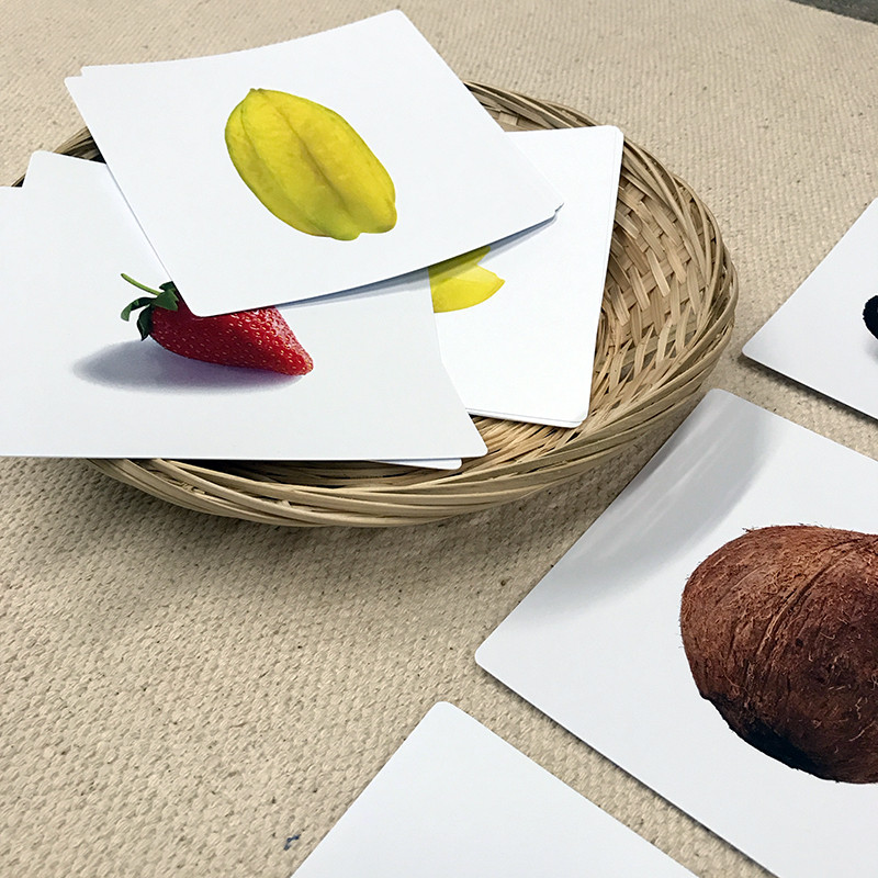 Fruit Halves Sorting Cards (IT-0080)