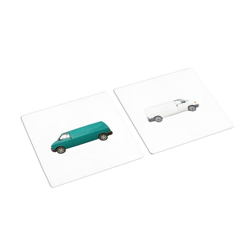 Same Transportation Different Color Sorting Cards (IT-0095)