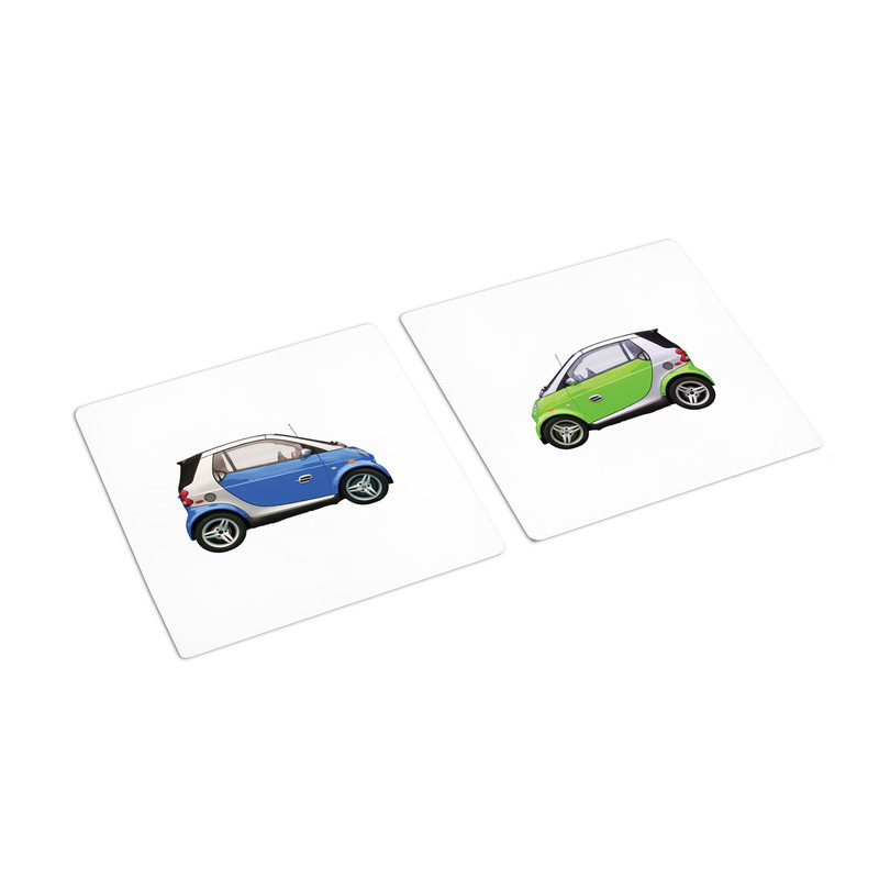 Same Transportation Different Color Sorting Cards (IT-0095)