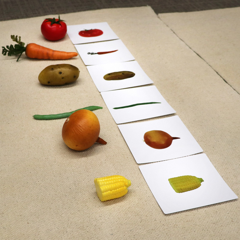 Vegetables to Object Activities Set 1 (IT-0093)
