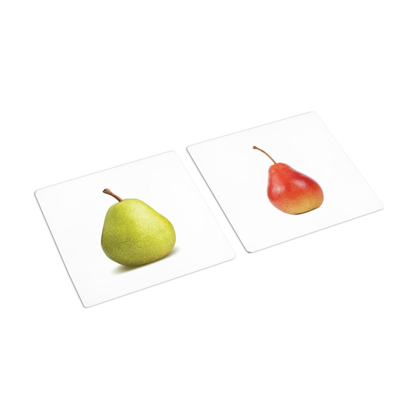 Same Fruit Different Color Sorting Cards