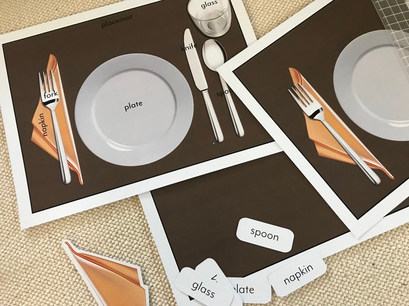 Place Setting Activities