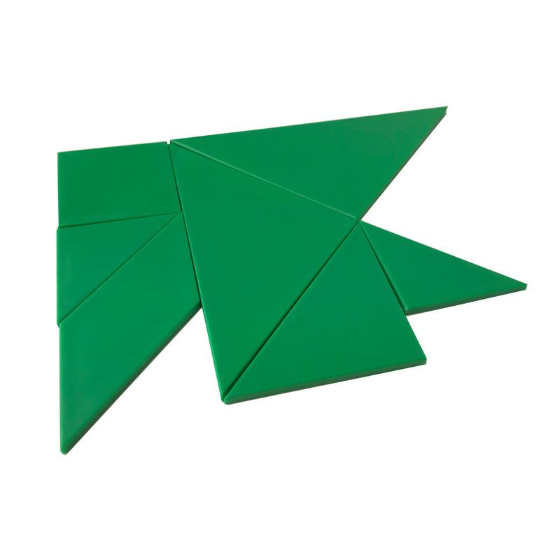 Green Tangrams
