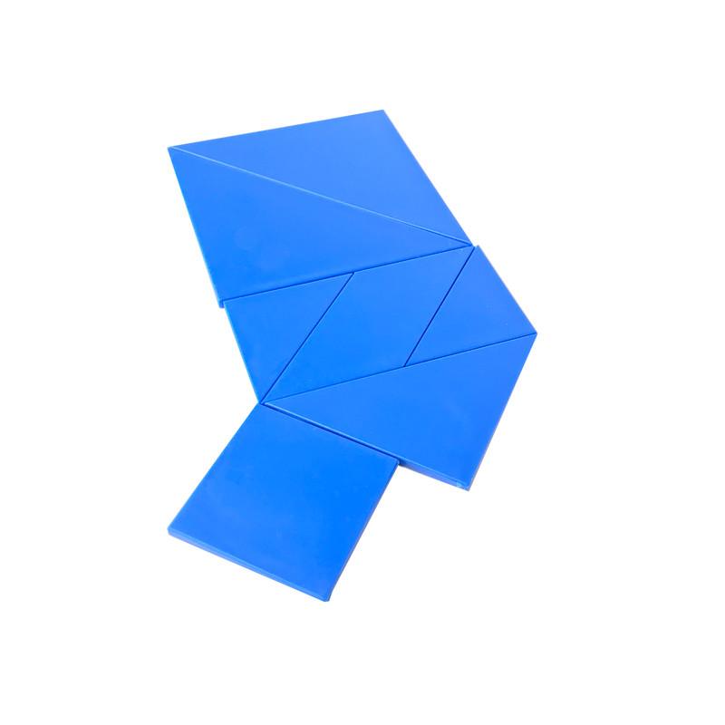Blue Tangrams