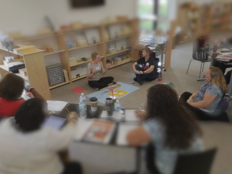 Montessori Teacher Workshops - On Location