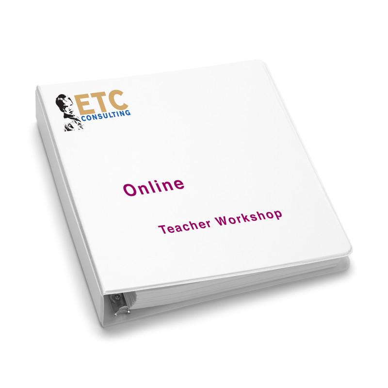 Teacher Workshops - Online