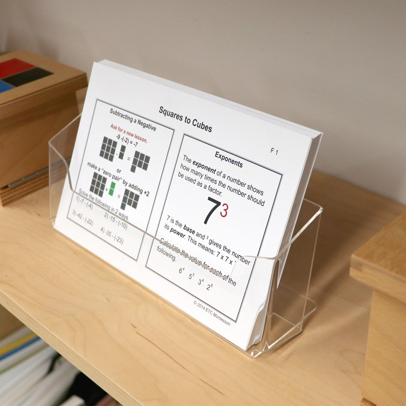 ETC® Half-page Card Holder