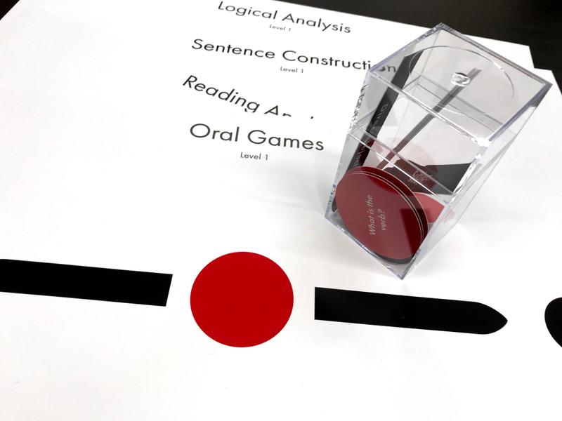 Level I Sentence Analysis Set with Box