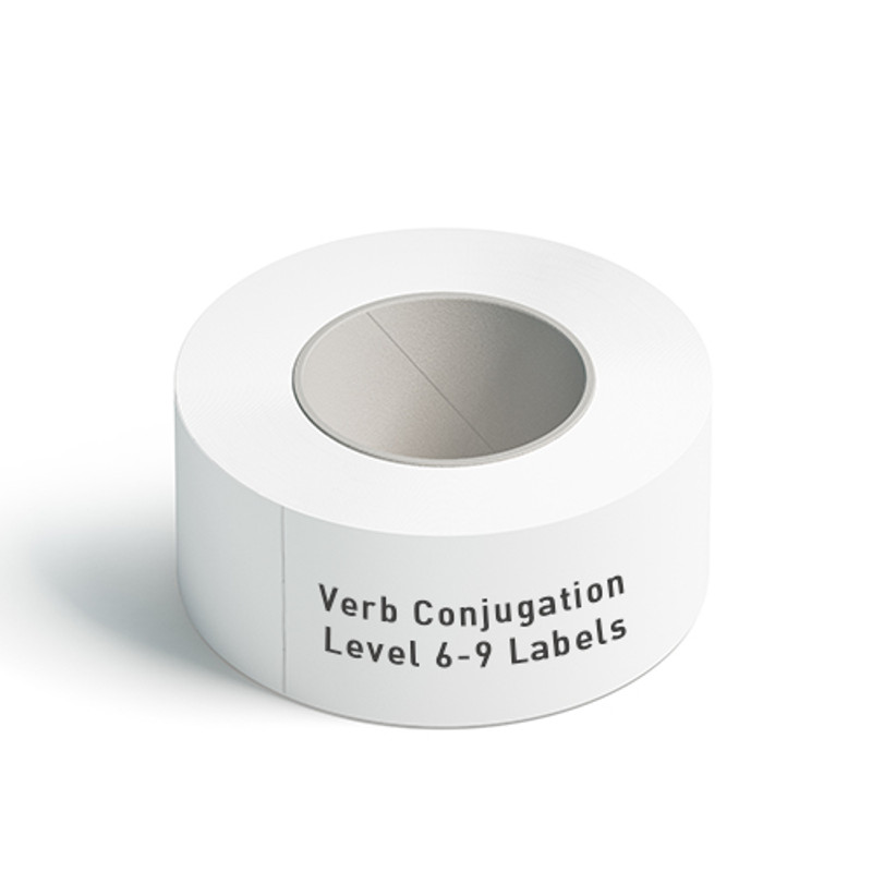 Verb Conjugation Level 6-9 Labels
