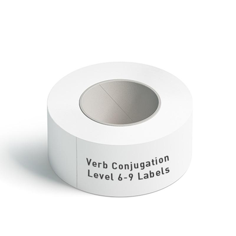 Verb Conjugation Level 6-9 Labels