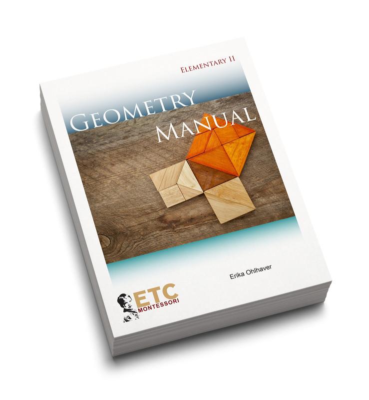 Montessori Elementary II Geometry Manual (ELCM-3005)
