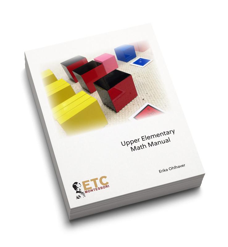 Montessori Elementary II Math Manual (ELCM-3010)