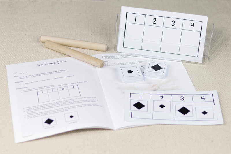 Teaching Rhythm in Music - Teacher's Manual and rhythm boards