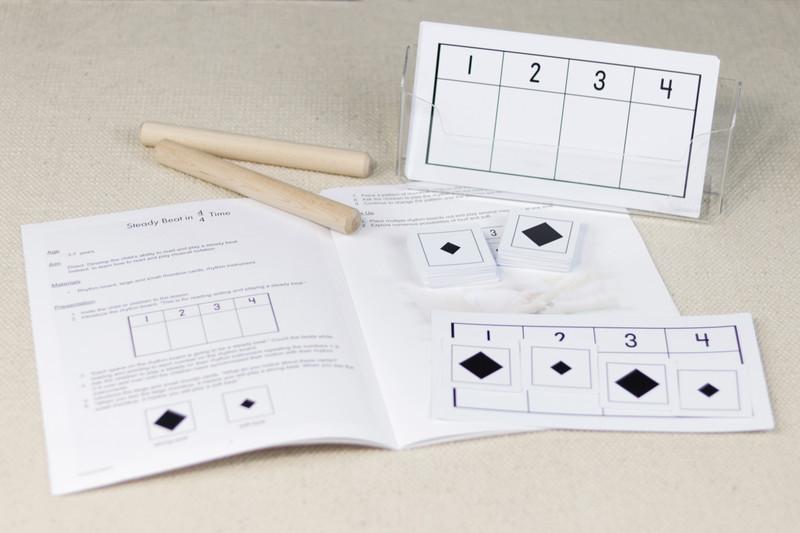 Teaching Rhythm in Music - Teacher's Manual and rhythm boards