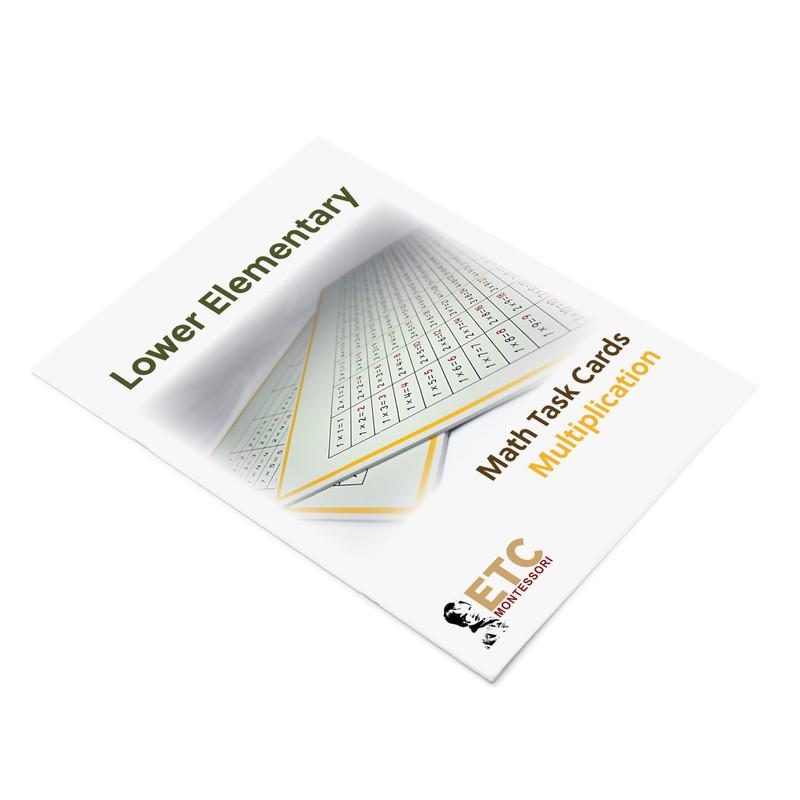 Lower Elementary Digital Math Task Cards - MULTIPLICATION