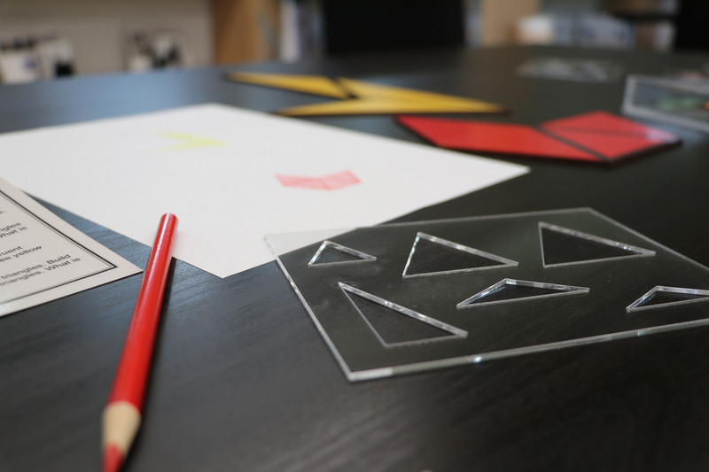 Constructive Triangle Template