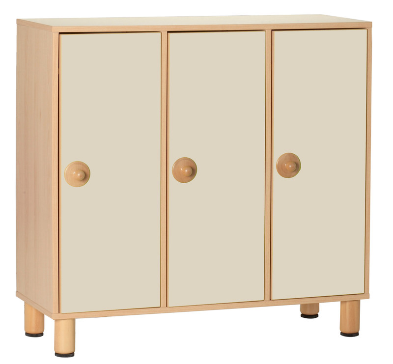 Item: GA0252100 (105x41x100h cm) 9-Place dressing cabinet with doors