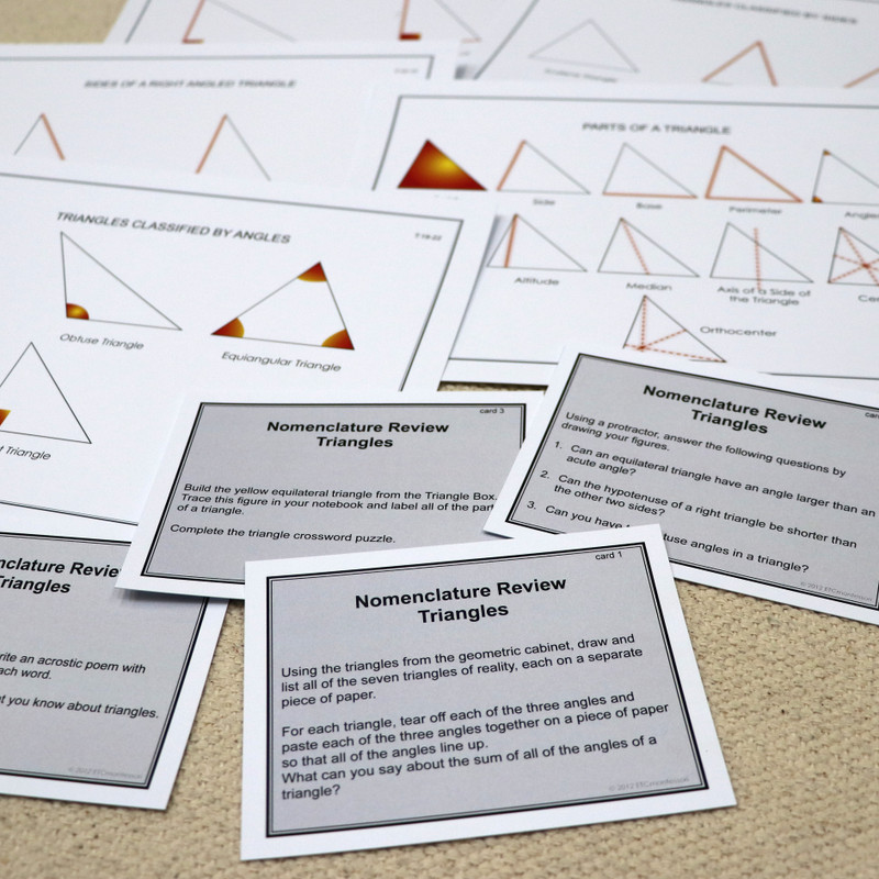 Upper Elementary Geometry - Task Cards