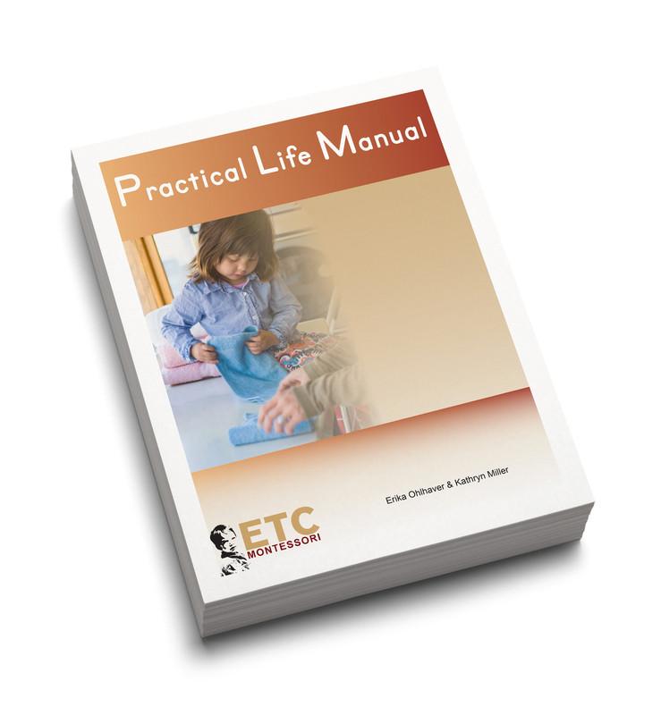 Montessori Practical Life Manual (ELCM-0120)