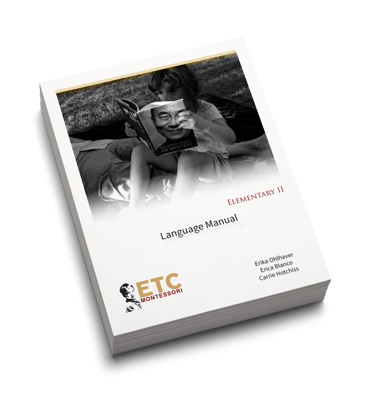 Montessori Elementary II Language Manual (ELCM-6110)