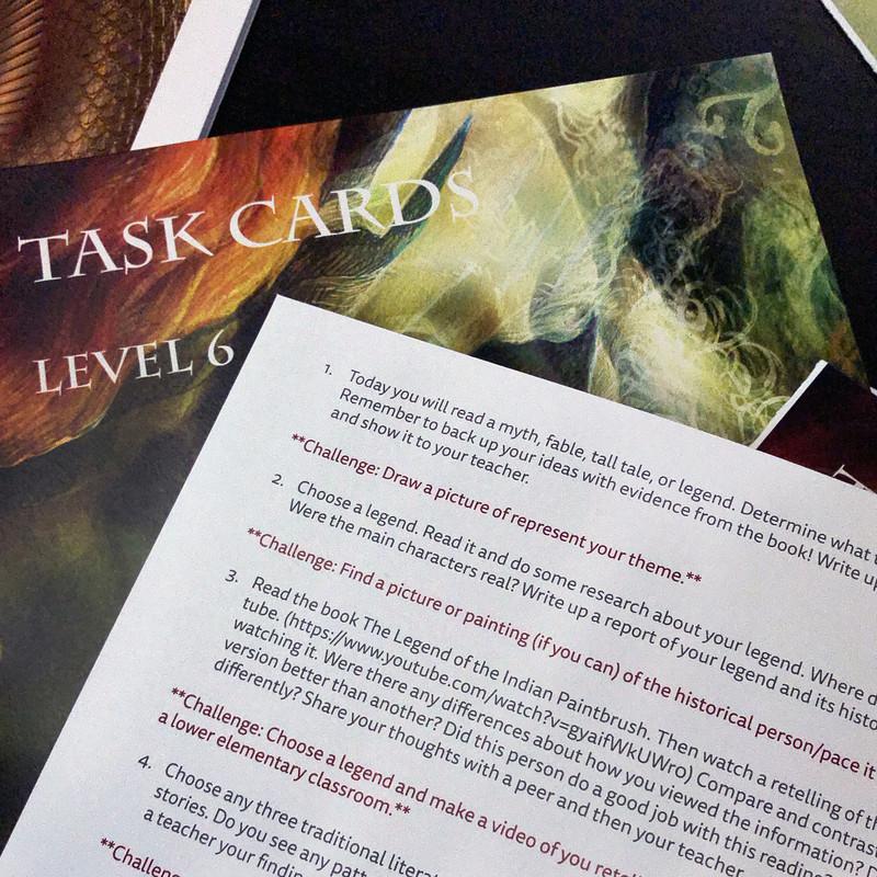 Fables, Myths, and Legends Level 9-12 (ELC-6024)