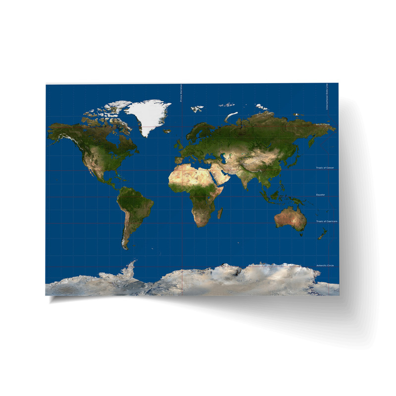 Giant Map of the World