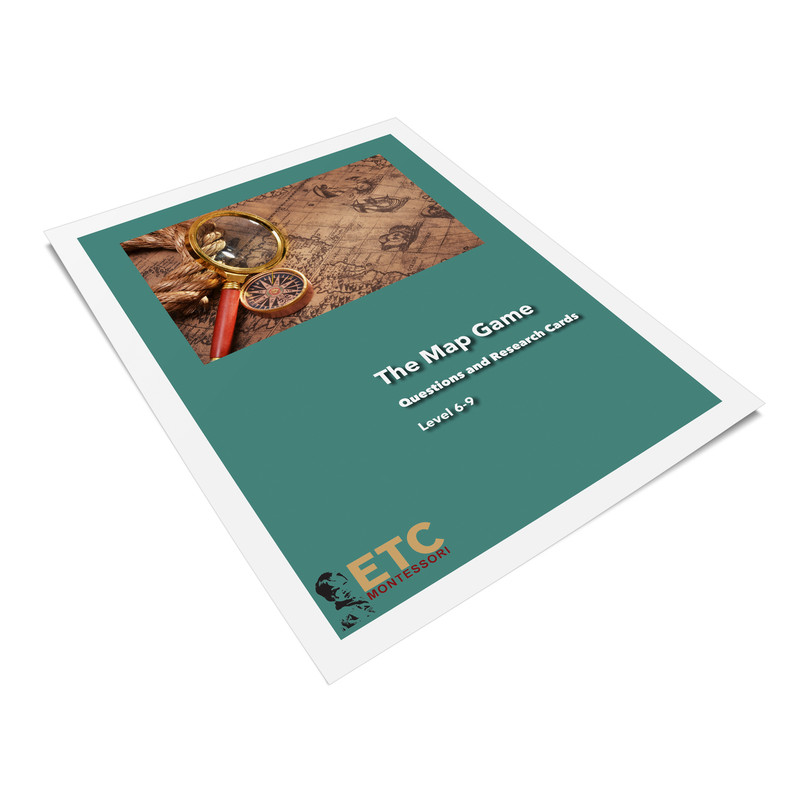 ETC® Map Game Questions Level 6-9