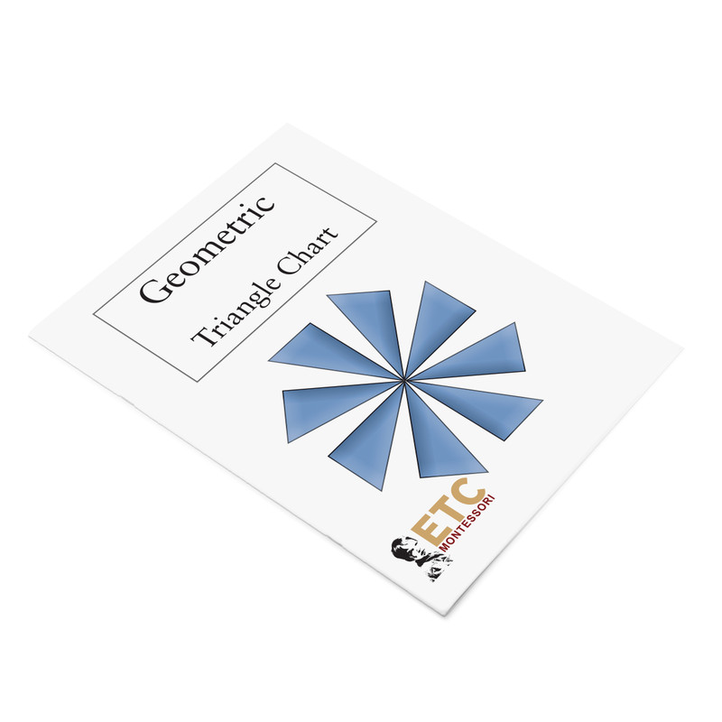 1st Level Geometry Task Cards with Triangle Chart