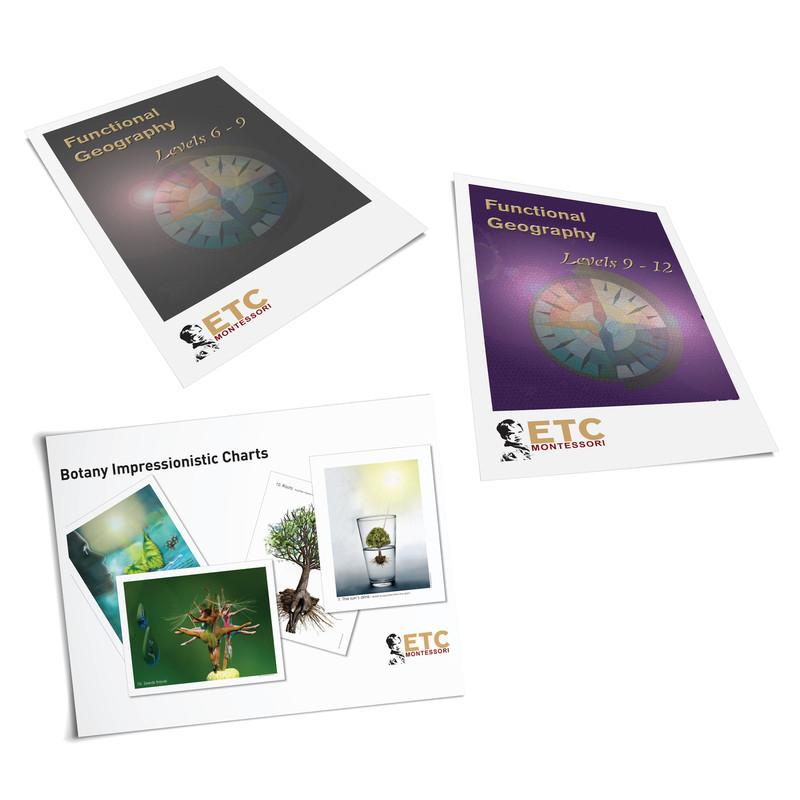 Large Impressionistic Charts Bundle