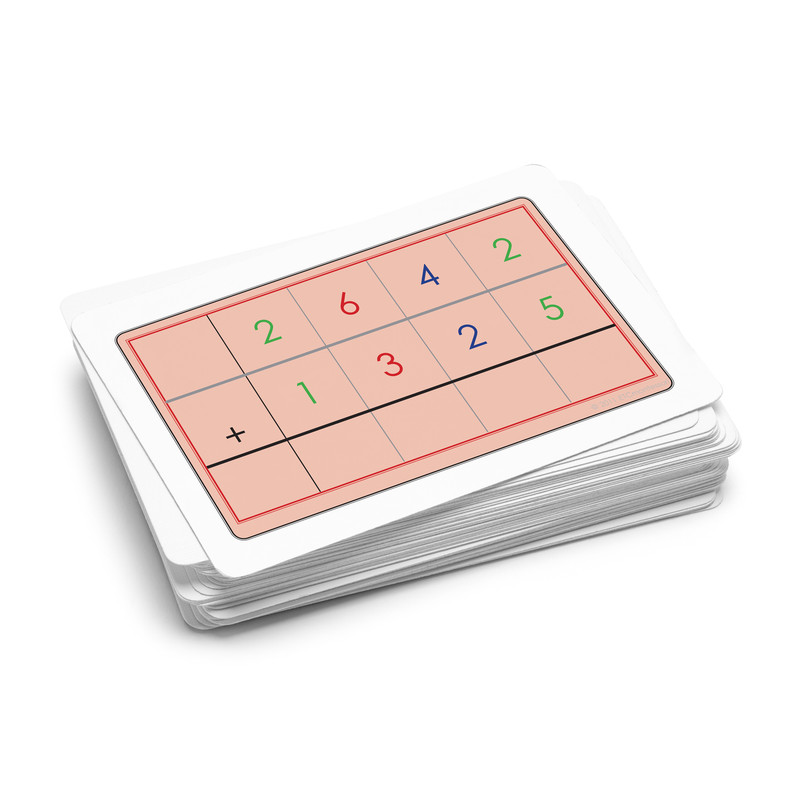 Golden Bead Task Cards - Addition