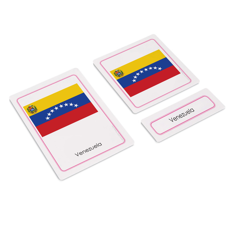 Flags of South America 3 Part Cards (EC-0502)
