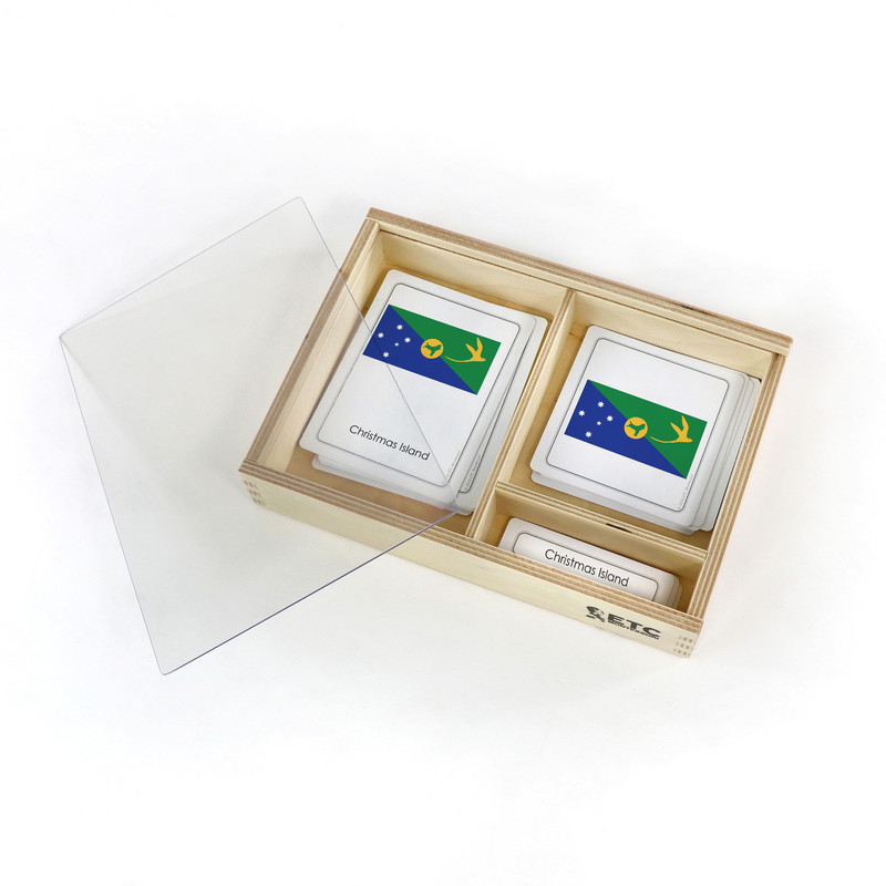 Flags of the World 3 Part Cards (EC-0500)