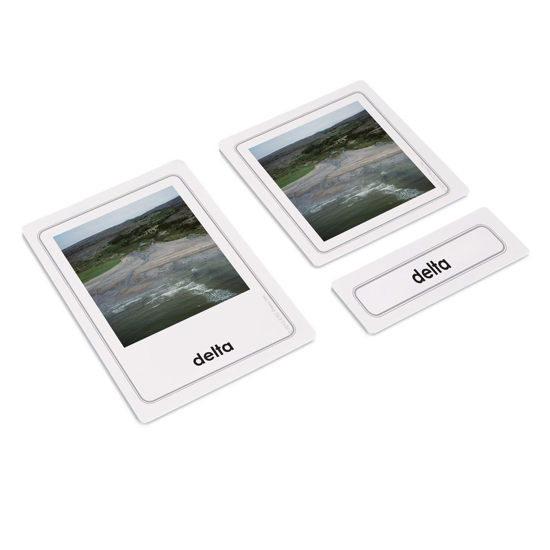 Land Formations 3 Part Cards Kit 2 (EC-0526B)