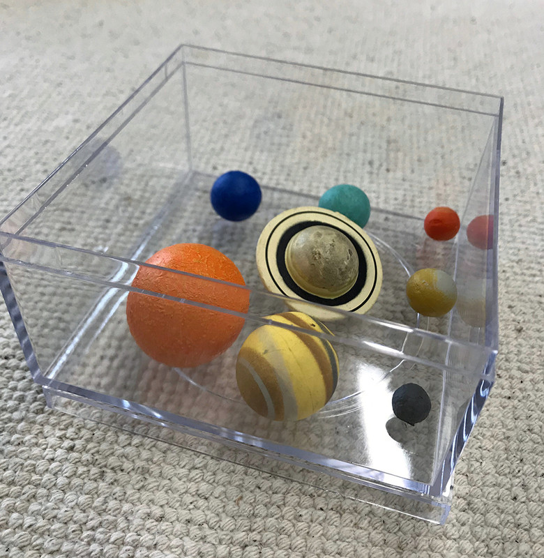 Planets of the Solar System 3 Part Cards with Objects (EC-0583)