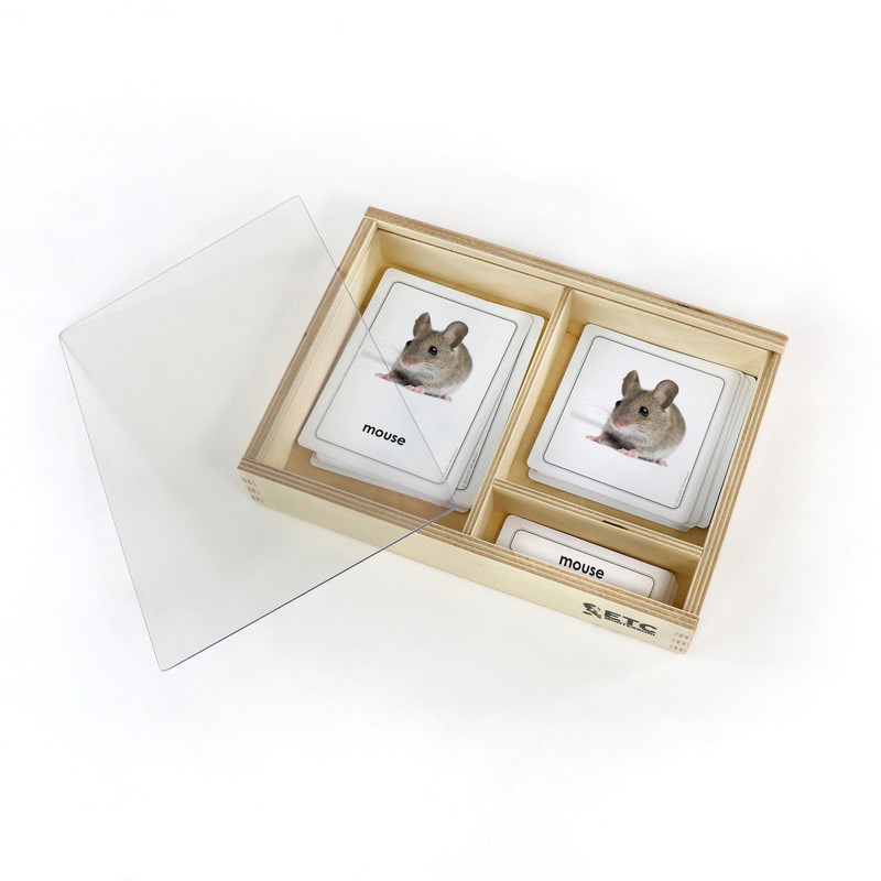 Animal Young 3 Part Cards (EC-0605A)