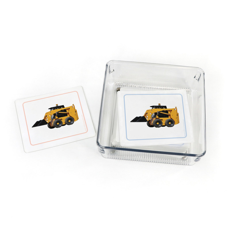 Construction Equipment - Matching Cards (EC-0530B) with container