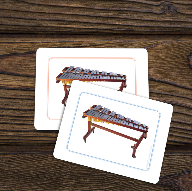 Musical Instruments - Matching Cards (EC-0720B)